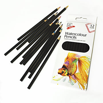 12 Watercolour Pencils