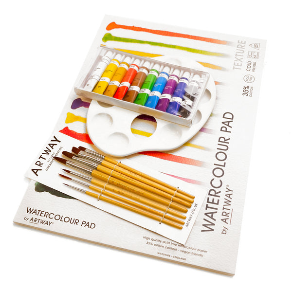 Watercolour painting kit