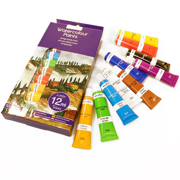 Work of Art Watercolour Paint Set (10 x 12ml)