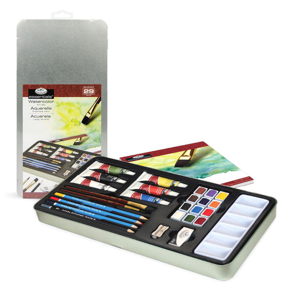 Watercolour Painting Art Set in a Tin