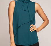 'Catherine' Sleeveless Blouse
