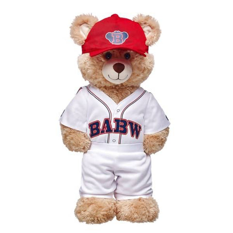 Baseball Uniform 3 pc. and Happy Hugs Teddy