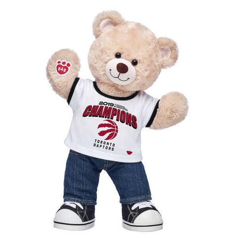 Toronto Raptors NBA Champions Gift Set from Build-A-Bear Workshop