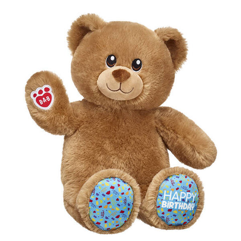Birthday Treat Bear Blue Cupcake Gift Set