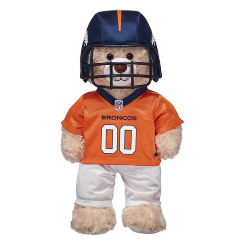 Denver Broncos Bear Set
