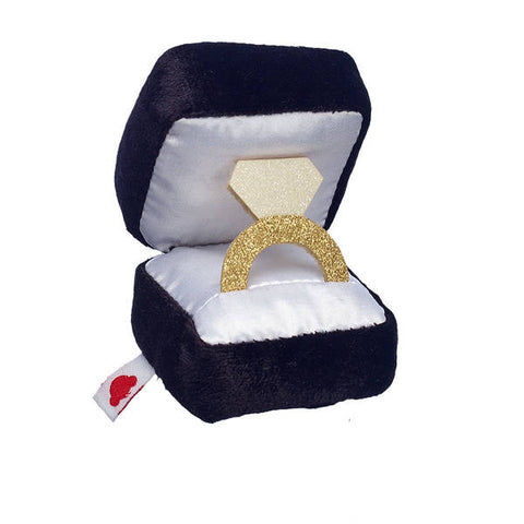 Timeless Teddy Groom and Plush Ring Box Gift Set