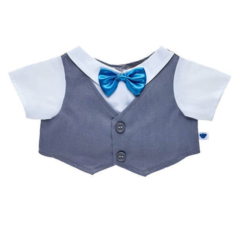 Happy Hugs Teddy Vest & Bow Tie Gift Set