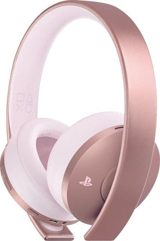 Sony - Rose Gold Gaming PlayStation Headset