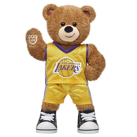 Los Angeles Lakers Bear