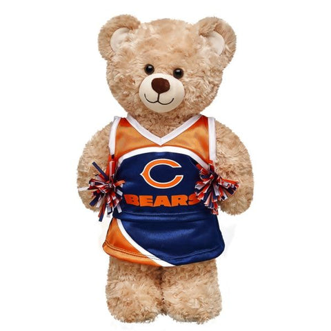 Chicago Bears Cheerleader Bear