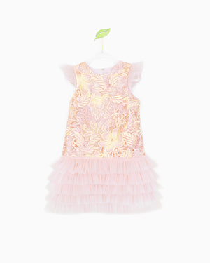 Pink and Gold Renee Dress