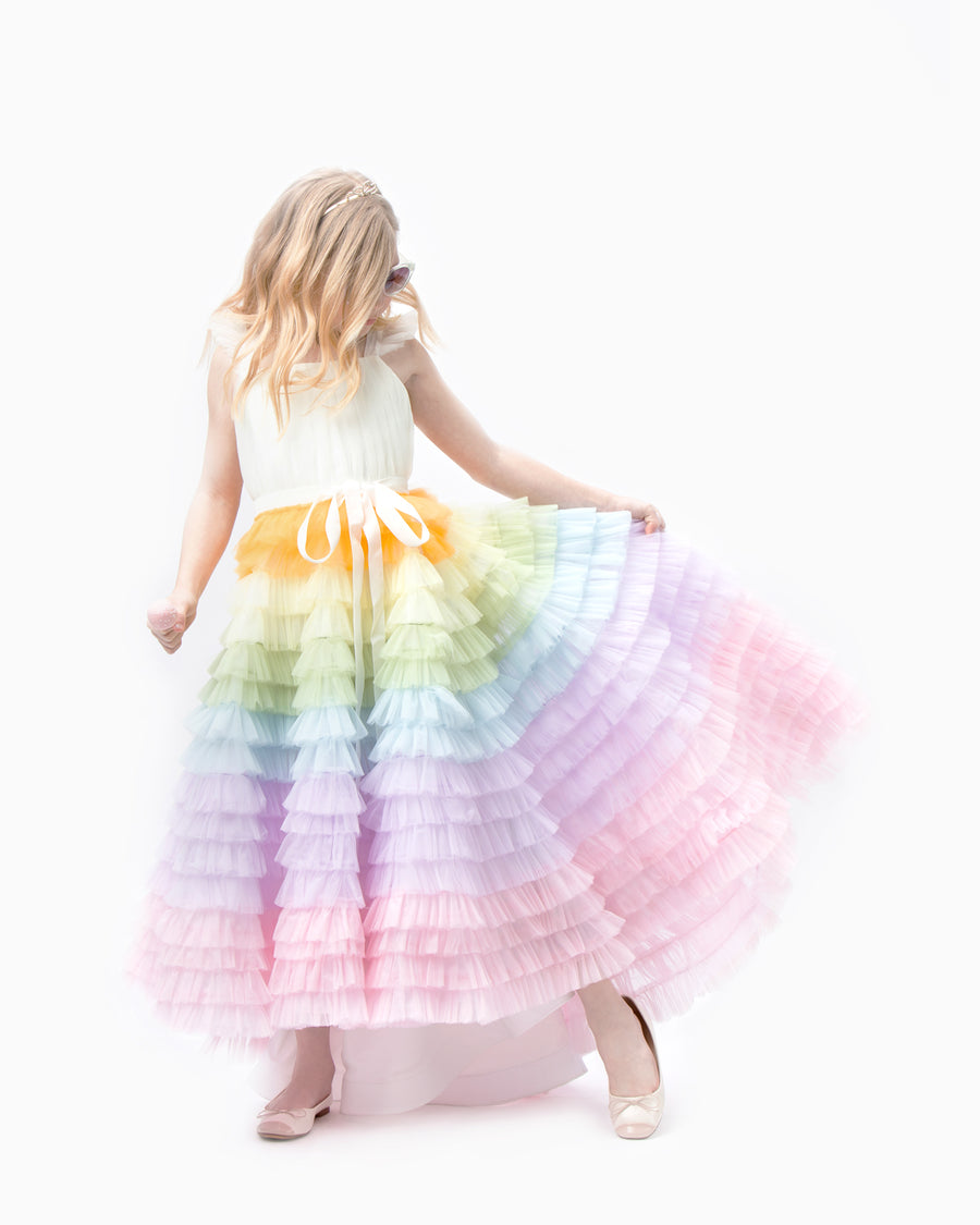 Rainbow Stormi Gown