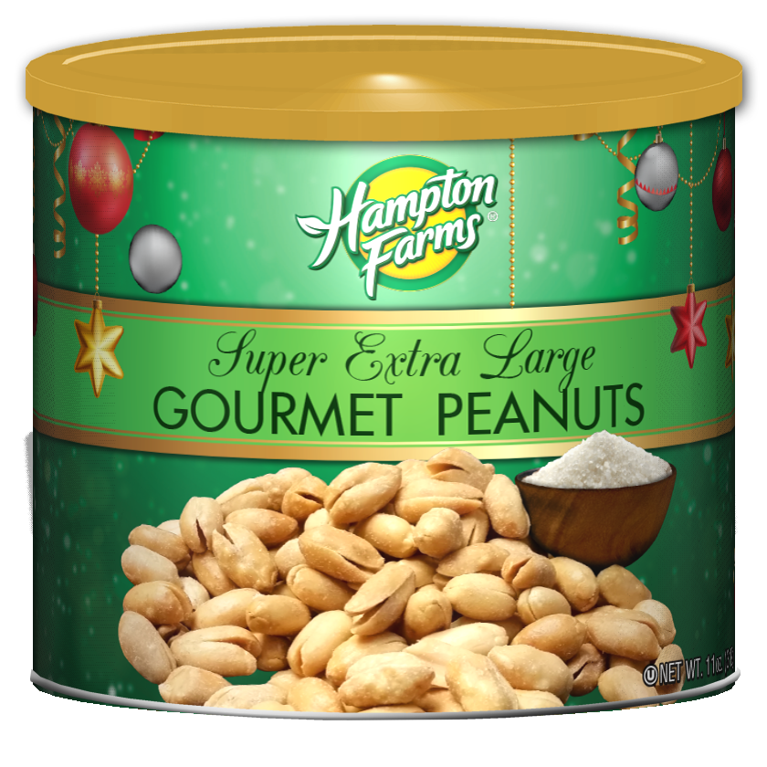 Virginia Super Extra Large Peanuts - Holiday Edition