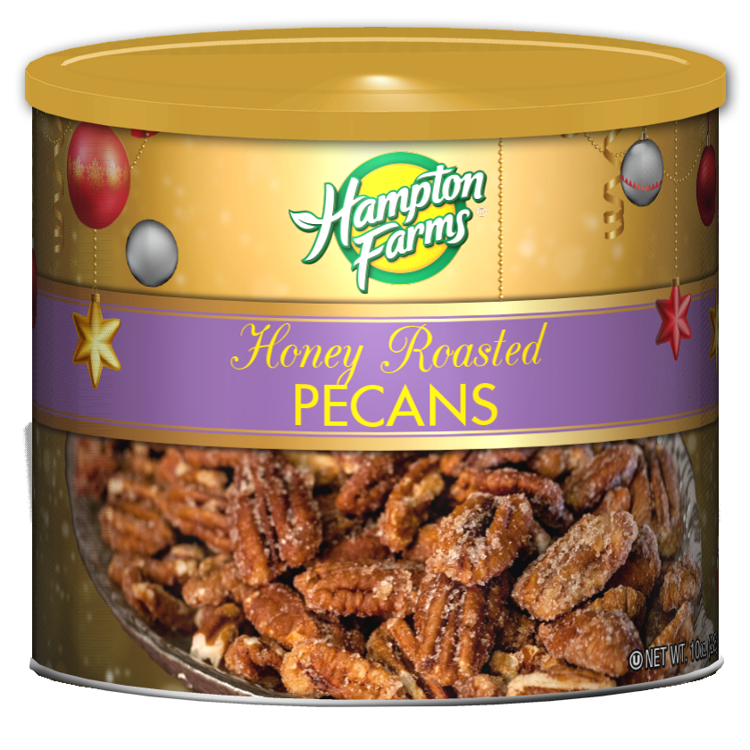 Honey Roasted Pecans - Holiday Edition - (10 oz.)