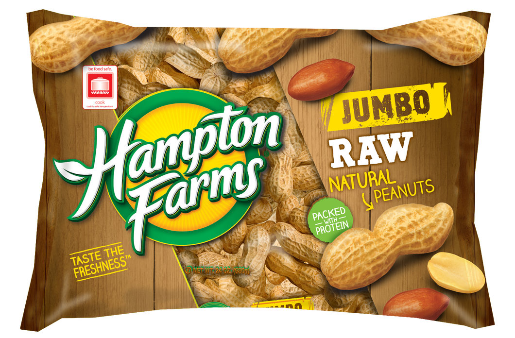 Jumbo Raw In-Shell Peanuts (24 oz.) - Case of 16