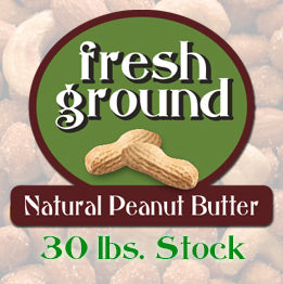 Natural Peanut Butter Stock (30 lb.)