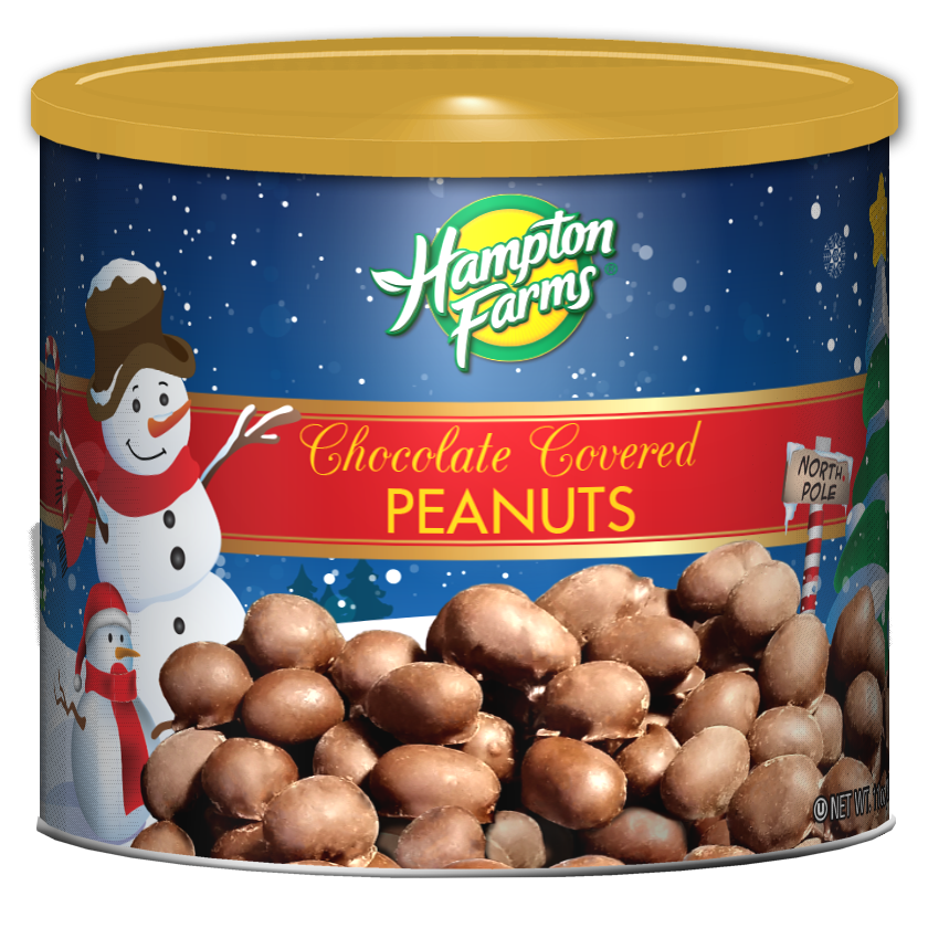 Chocolate Covered Peanuts - Holiday Edition