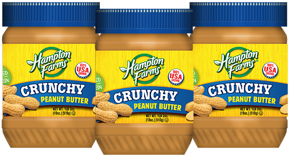 Crunchy Peanut Butter (18 oz.) - 3 pack