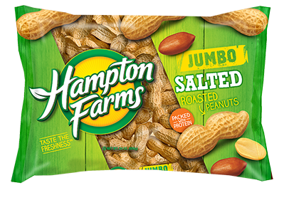 Jumbo Salted In-Shell Peanuts (24 oz.) - Case of 16