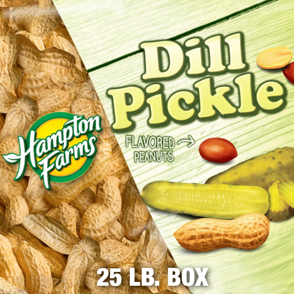 bulk dill pickle peanuts in shell