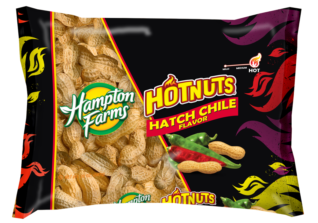 Hatch Chile Flavored In-Shell Peanuts (20 oz.) - case of 20