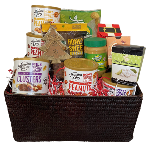 Deck The Halls Basket