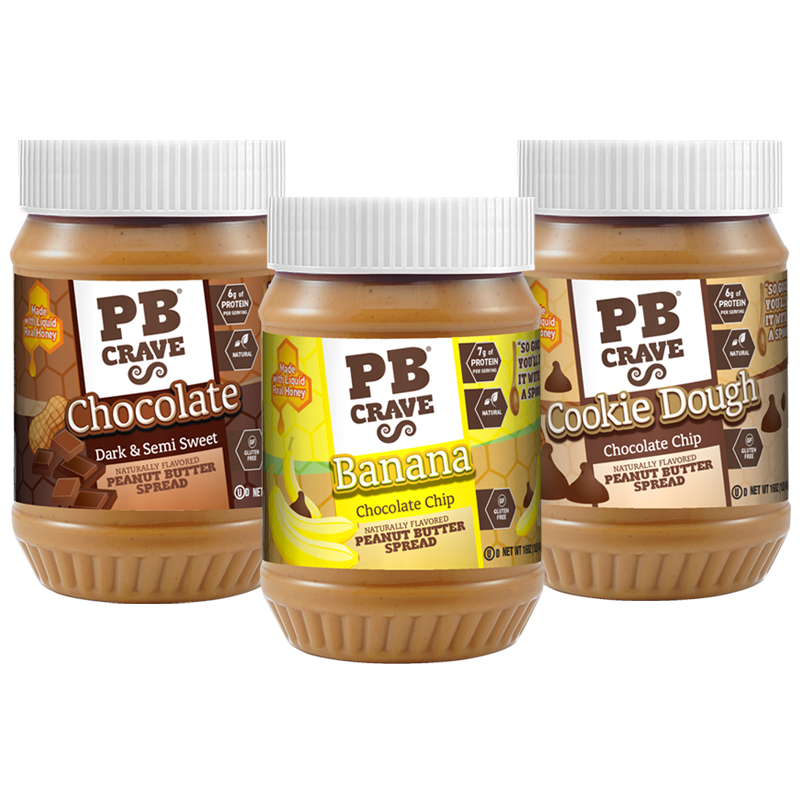 PB Crave – Our favorites trio