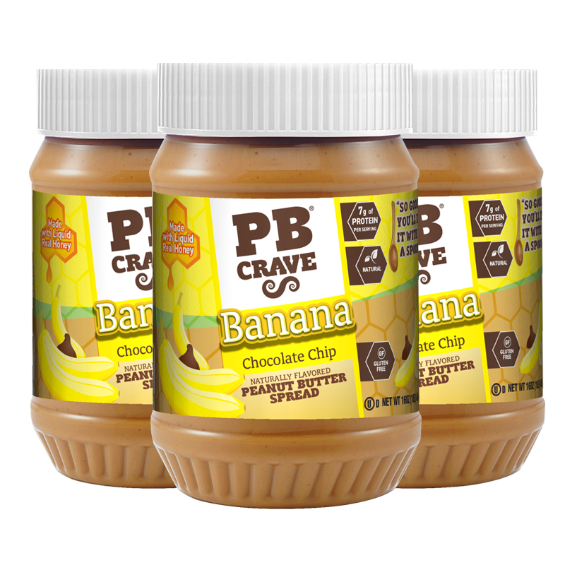 PB Crave - Banana Chocolate Chip