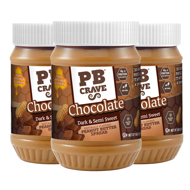 PB Crave – Dark & Semi-Sweet Chocolate