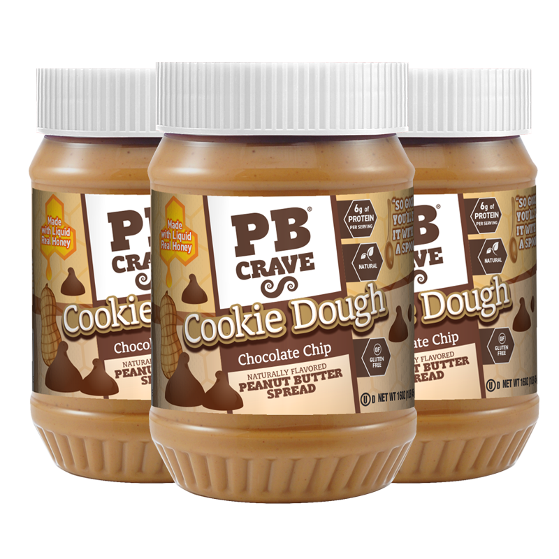 PB Crave – Cookie Dough Chocolate Chip