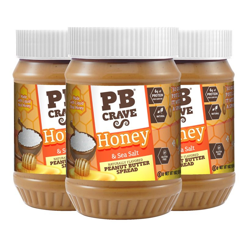 PB Crave – Honey & Sea Salt