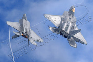 F-22 Break Canvas Print
