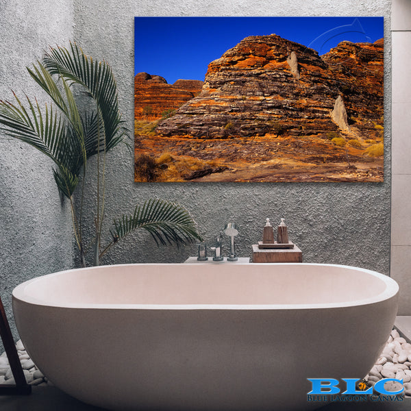 Ancient Rock Canvas Print