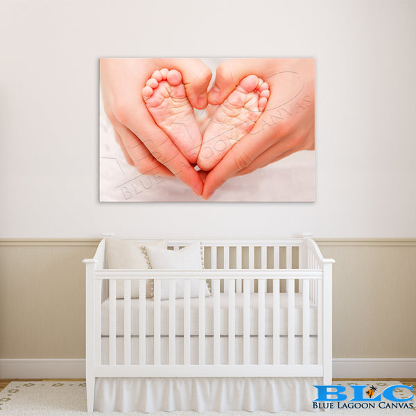 Baby Heart Canvas Print