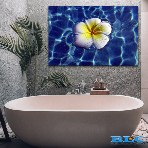 Floating Frangi Canvas Print