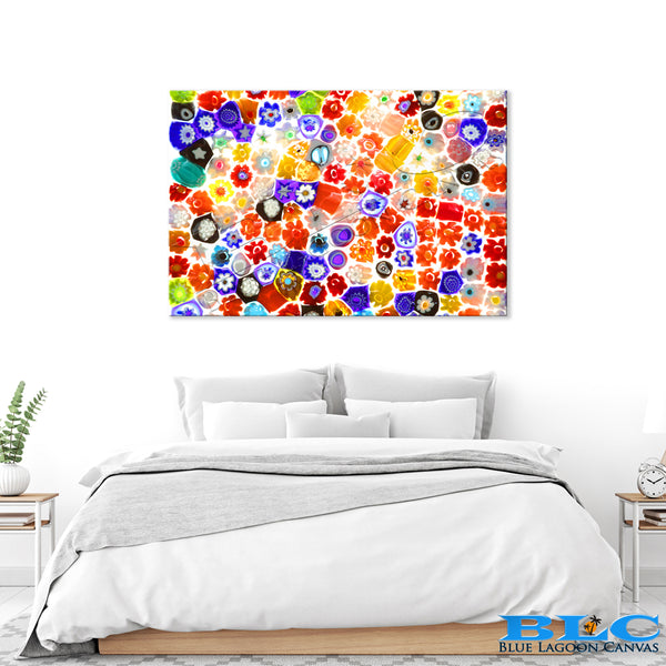 Glass Flora Canvas Print
