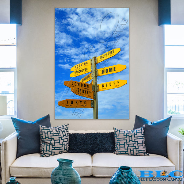 iLUV Travel Canvas Print