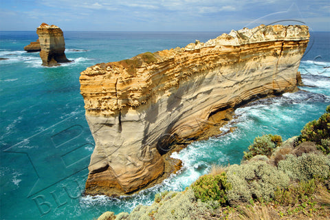 Great Ocean Cliffs Canvas Print