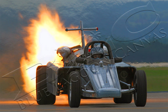 JET Car Canvas Print