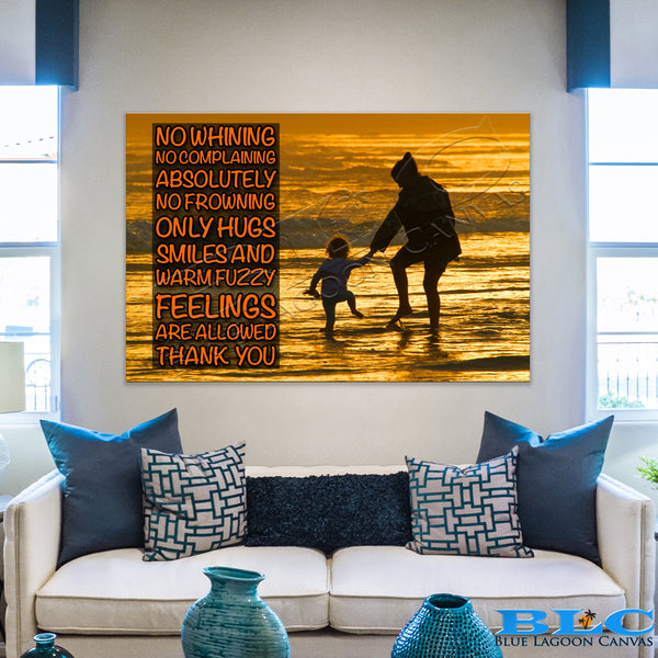 Mother and Child Canvas Print (No Whining)
