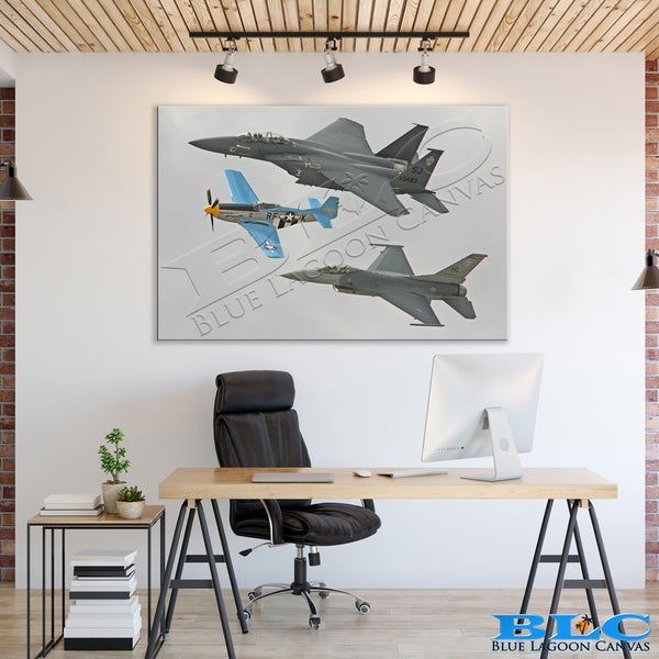 VIC Formation Canvas Print