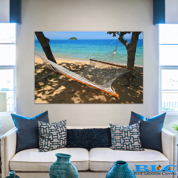Pacific Hammock Canvas Print