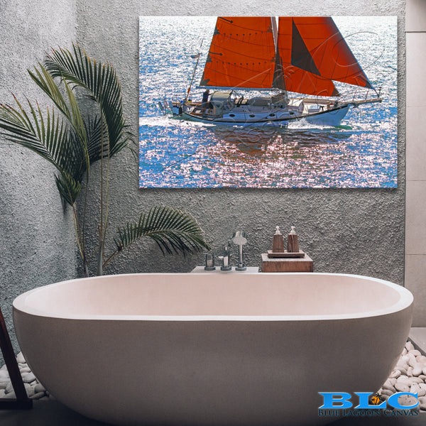 Sail the Seas Canvas Print