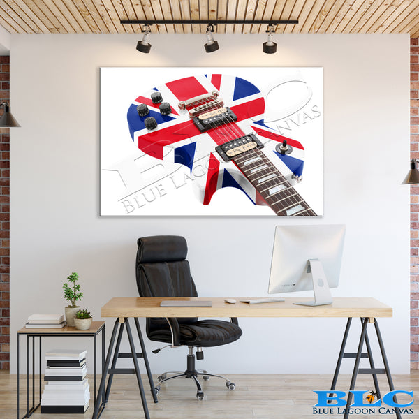 The British Are Coming Canvas Print
