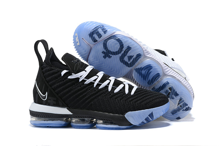 new products feb5f a0f93 Tênis Nike Lebron XVI I Promise White and Black