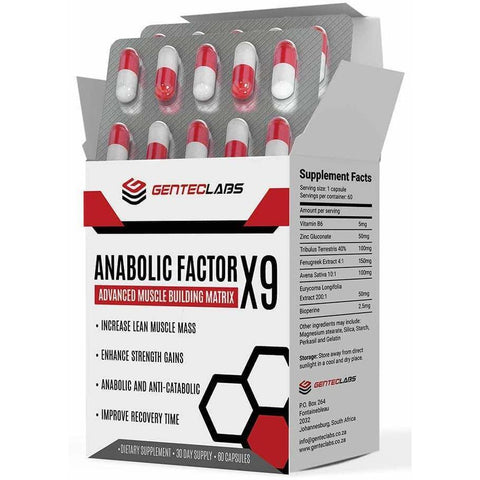 Anabolic Factor X9 (2 + 2 FREE)