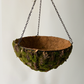 Rustic Hanging Basket Medium