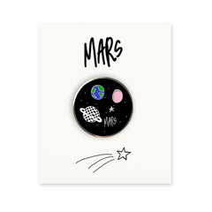 MARS GALAXY ENAMEL PIN