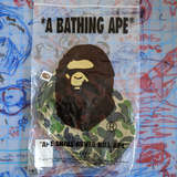 A Bathing Ape Bape ABC Flight Pouch