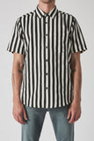 NEUW Work Stripe SS Shirt